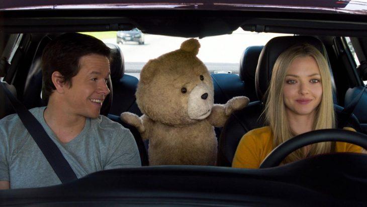 Escena de la pelícua Ted.