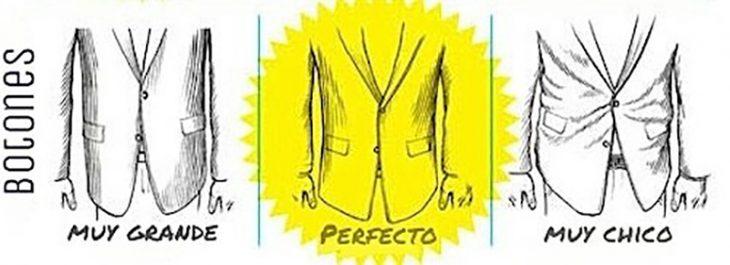 ilustracion con sacos en tallas incorrectas