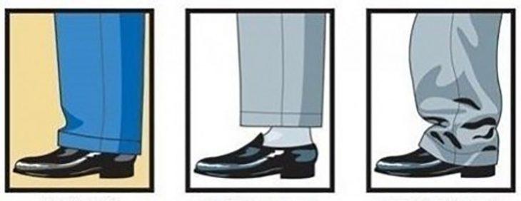 ilustracion con dibujos de pies y zapatos de hombre