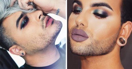 Estos 15 hombres demuestran que saben maquillarse; ¡e incluso mejor que tú!