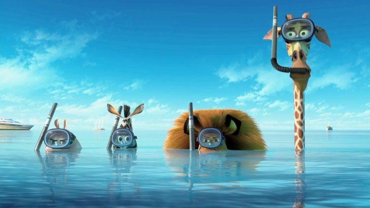 Escena de la película de Madagascar.