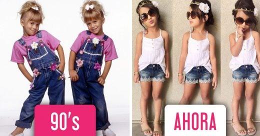 diferencias entre la infancia en los 90's y la infancia hoy en día