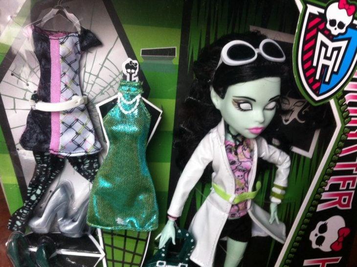 muñecas color verde de monster high