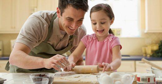 Estas son las 15 cosas más adorables que un papá moderno hace