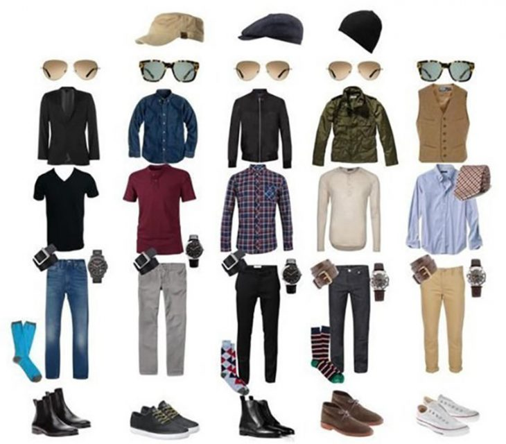 cinco combinaciones de atuendos con ropa para hombre