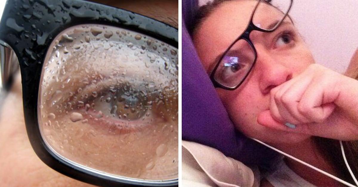 imágenes que quienes usan lentes reconocerán de inmediato
