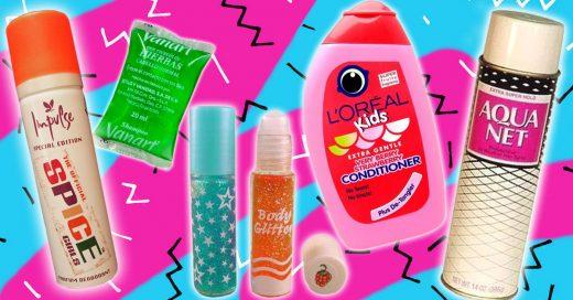 Productos de belleza que usabas en los 90