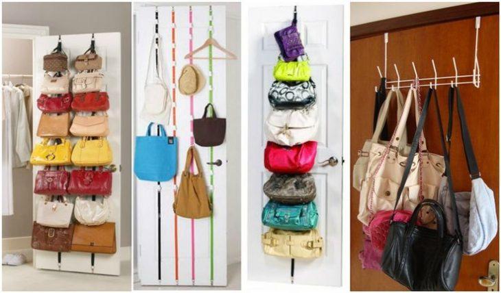 3 formas de organizar las bolsas.