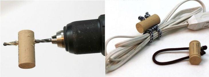 Trucos para mantener los cables enredados de forma correcta.