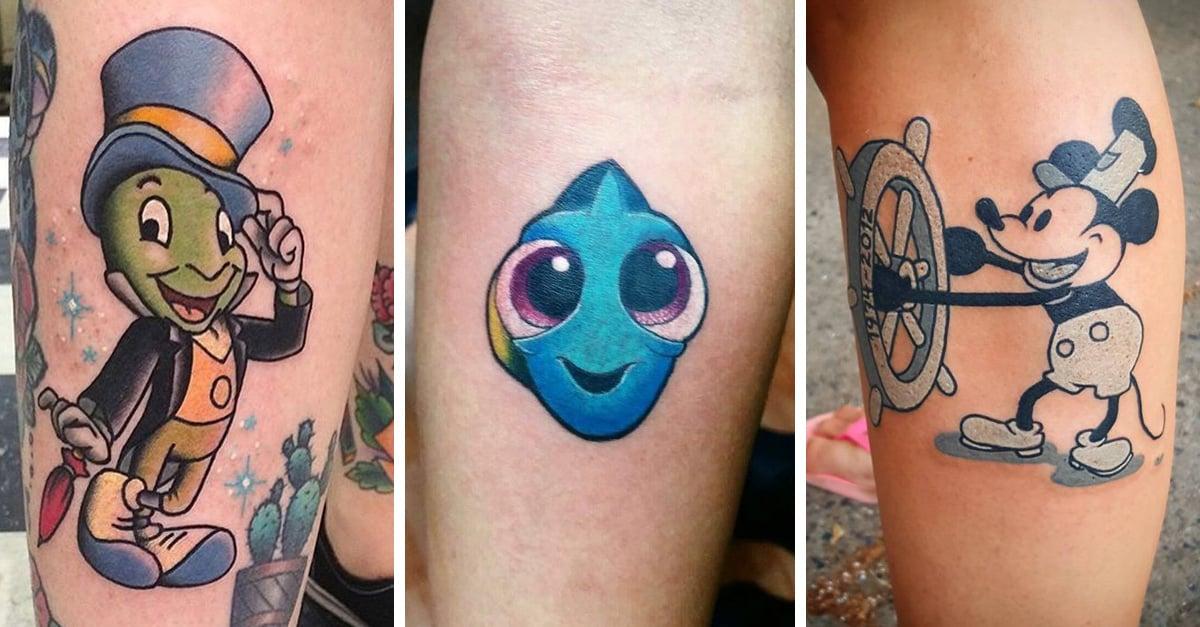 20 tatuajes de Disney que hasta Walt Disney amaría