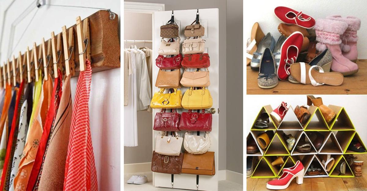 15 ideas que te ayudar n a mantener tu cl set organizado - Por fin vas a ordenar tu casa ...