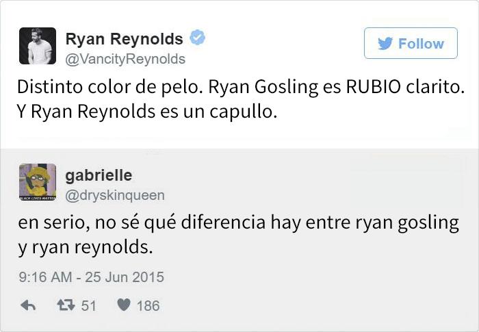 Tuits de Ryan Reynolds