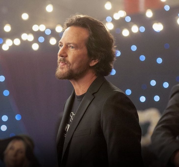 Eddie Vedder en concierto.