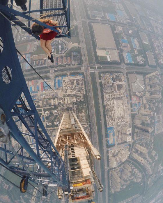 Foto desde las alturas.