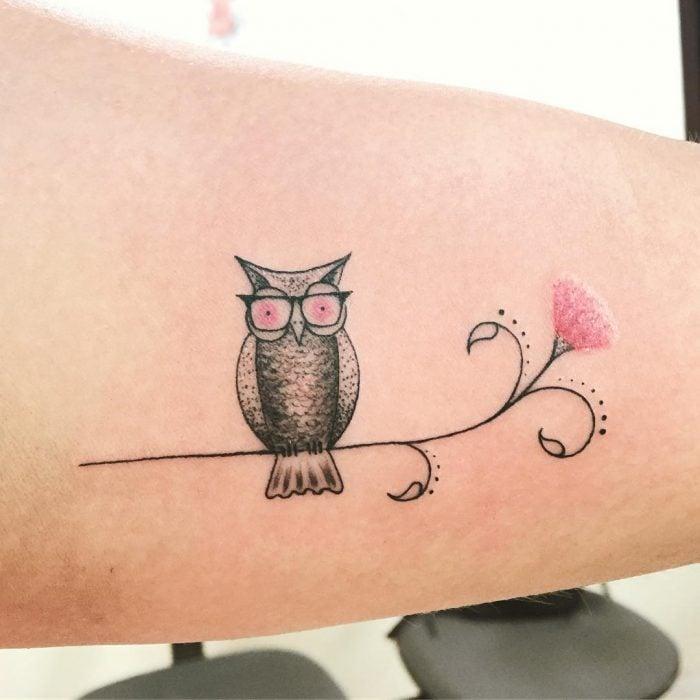 tatuaje búho