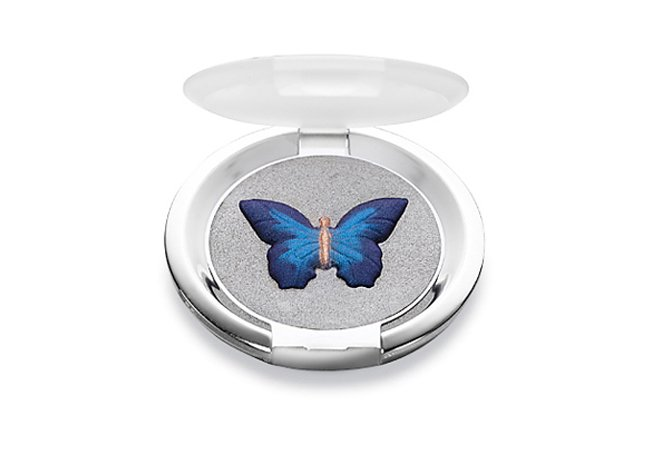 sombra para ojos con forma de mariposa