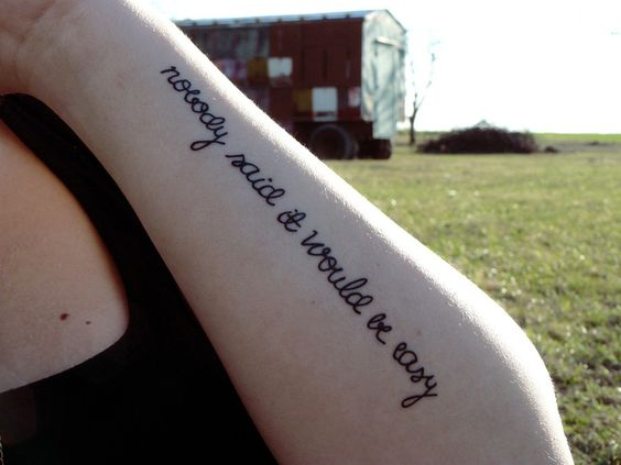 tatuaje Coldplay