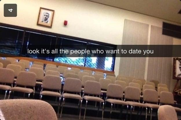 snap auditorio vacío