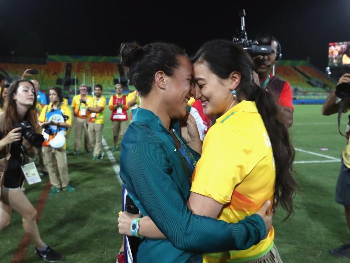 Pareja gay en Juegos Olímpicos de Río 2016