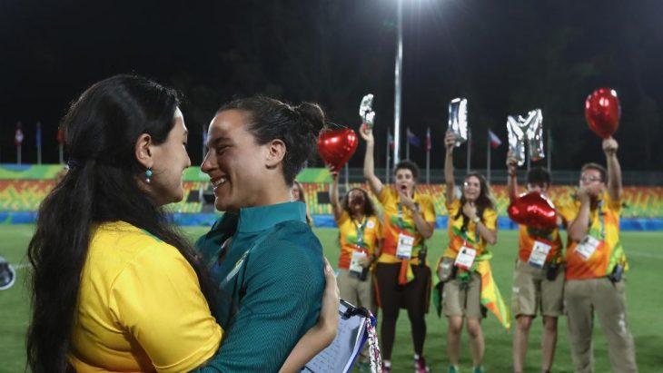 Isadora Cerullo y Marjorie Enya en Río 2016