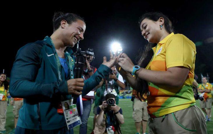 Propuesta de matrimonio gay en Río 2016