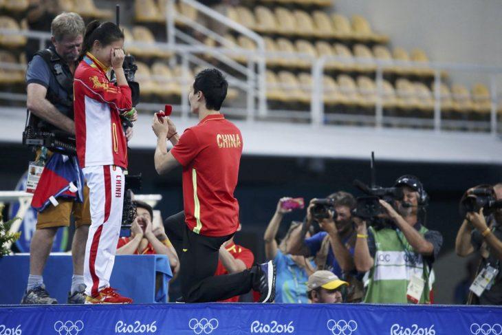 Propuesta de matrimonio en escenario de Río 2016