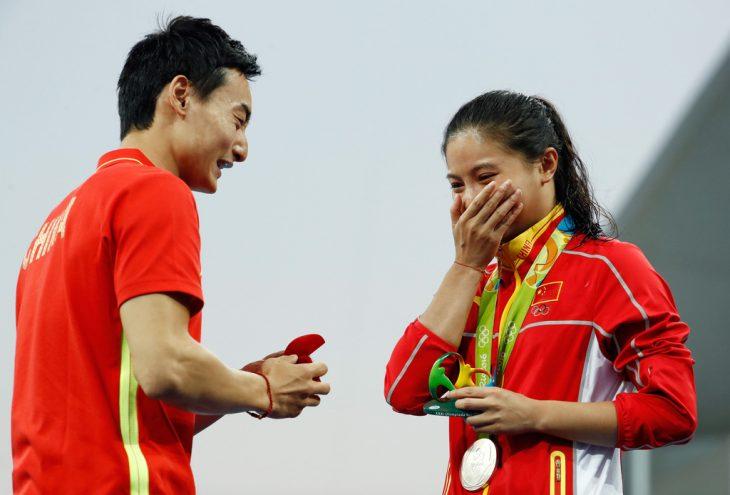 Qin Kai proponiendo matrimonio