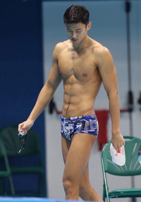 Nadador chino más guapo de Río