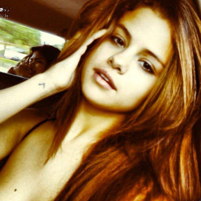 Selena Gomez sin maquillaje