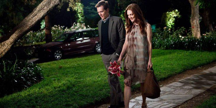 Escena de la película crazy stupid love, juliane moore en una cita