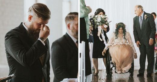 Esta mujer sorprendió a sus invitados el día de su boda