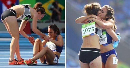 Estas atletas habían sido descalificadas, pero los jueces decidieron dejarlas llegar a la fianal
