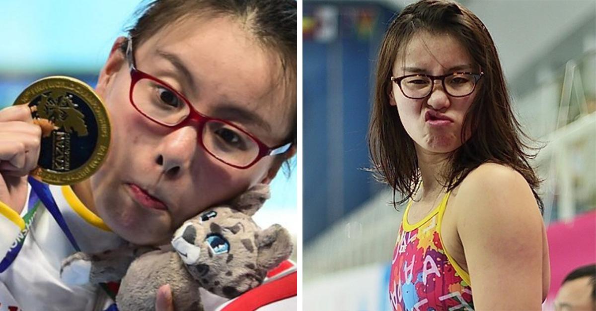 Fu Yuanhi es la nadadora que está cautivando a todos en Río 2016
