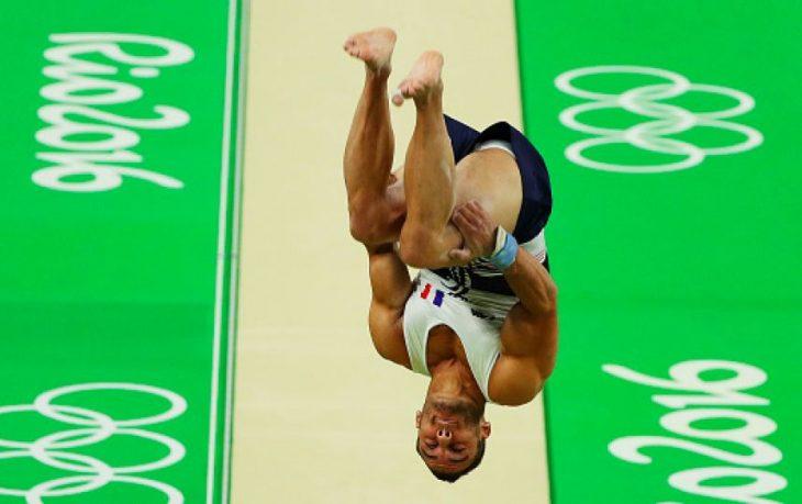 gimnasta francés salto olimpiadas 2016