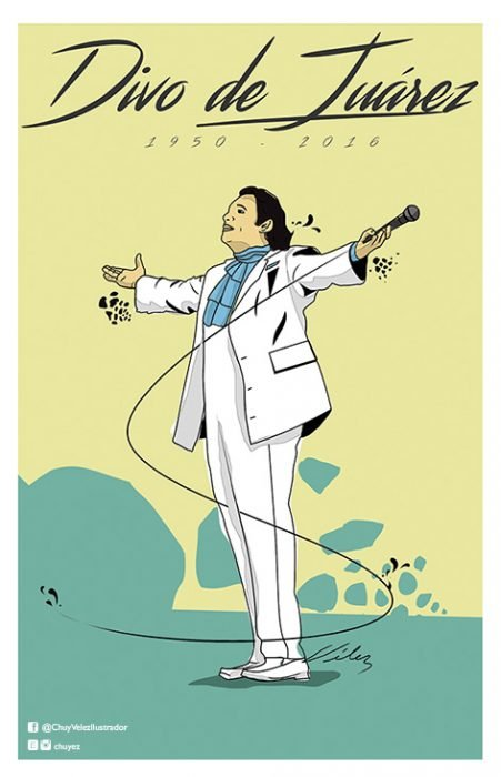 Juan Gabriel tributo al Divo de Juárez