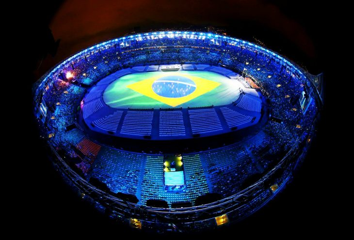 Estadio de Brasil Ceremonia de Clausura Río 2016