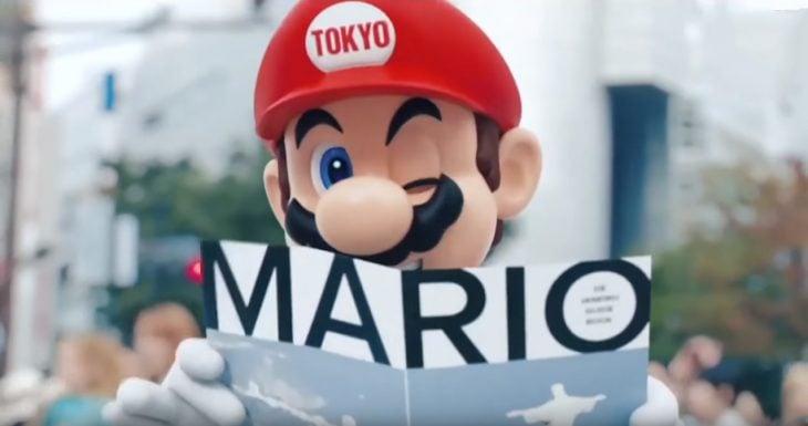 Mario Bros Video de Tokio 2020