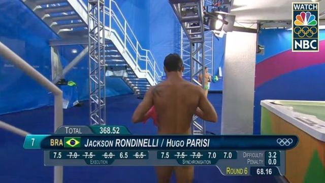 nadador olímpico