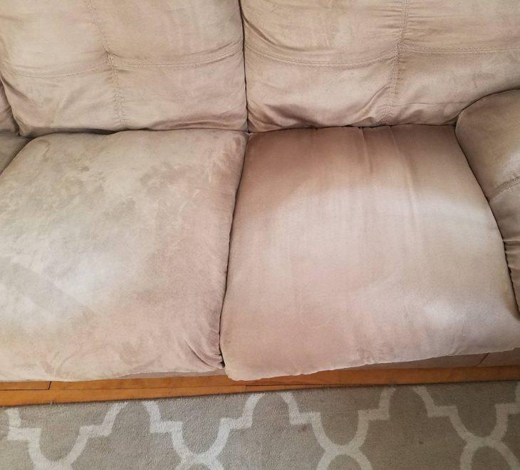 sofá limpio