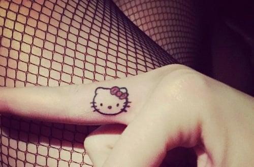 tatuaje kittie Katy Perry