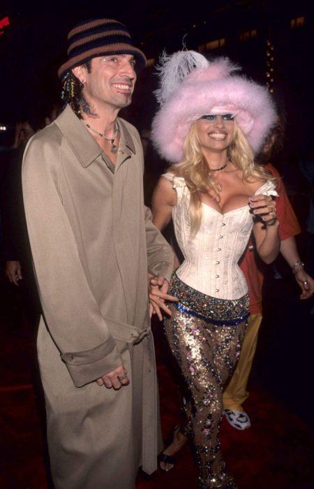 Tommy Lee y Pamela Anderson en premios MTV