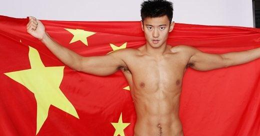 Internet se ha vuelto loco con Ning Zetao; el nadador chino más sexy de Rio de Janeiro 2016