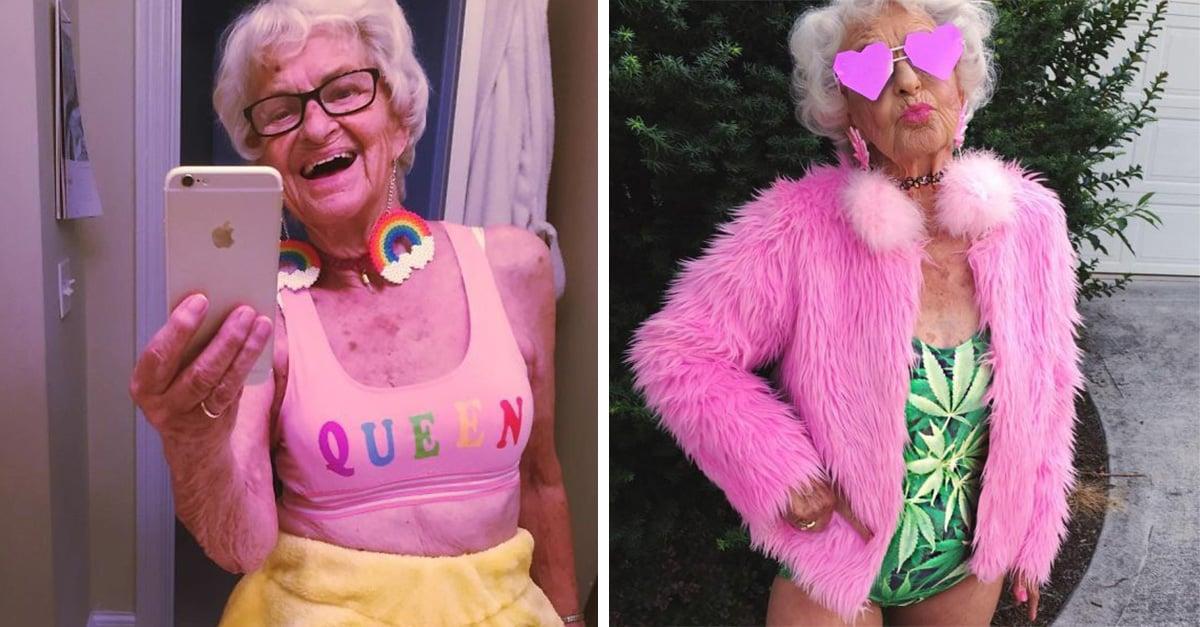 Para esta abuela de 88 años la juventud se lleva en el corazón