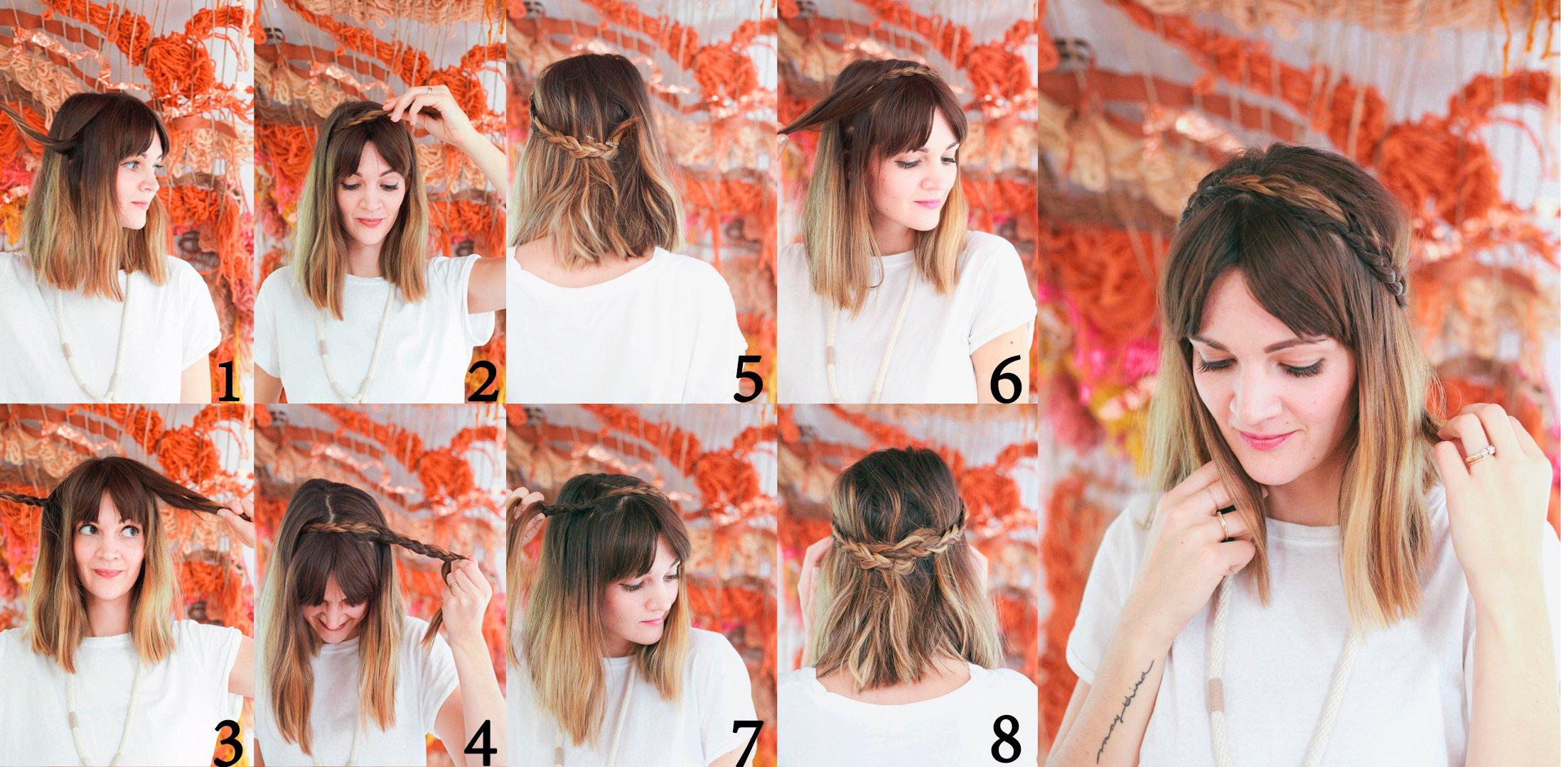 Peinados Que Te Ayudaran A Realzar Aun Mas Tu Flequillo