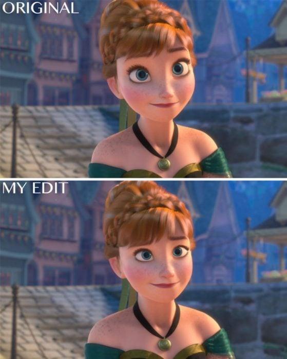 Anna de Frozen, Original y edición