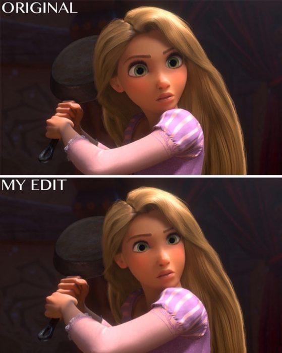 Rapunzel, Original y edición
