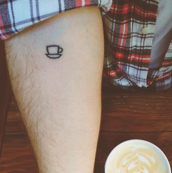 Tatuaje taza de café