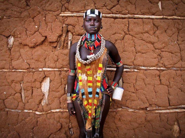 Traje de novia de etiopia