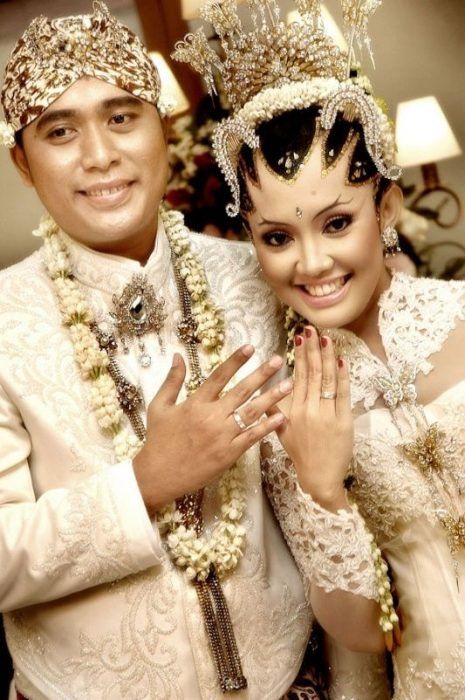 Traje de novia típico de indonesia