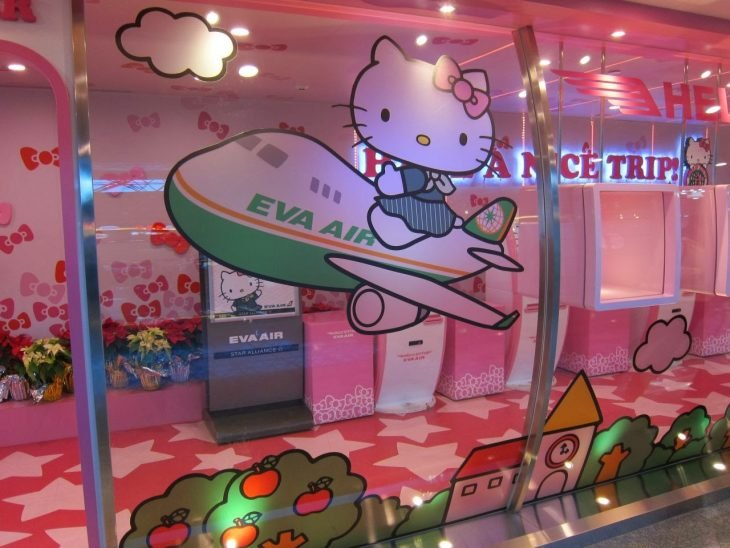 sala espera Hello Kitty